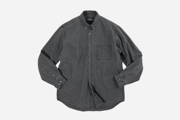 FrizmWORKS 21 SS Pigment Dyeing Oversized Shirt (5)
