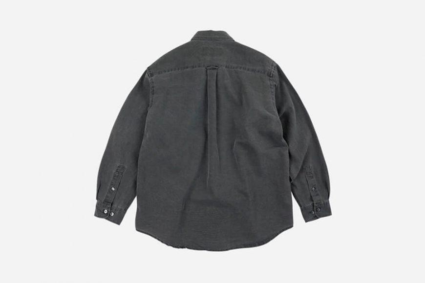 FrizmWORKS 21 SS Pigment Dyeing Oversized Shirt (6)