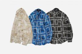 FrizmWORKS 21 SS Tie-Dyed Bandana Oversized Shirt (10)