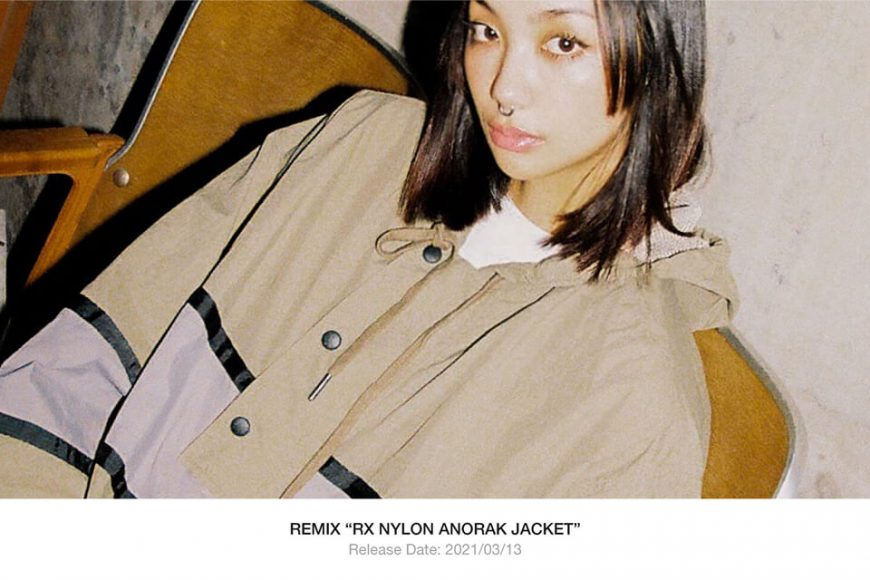 REMIX 20 AW RX Nylon Anorak Jacket (1)