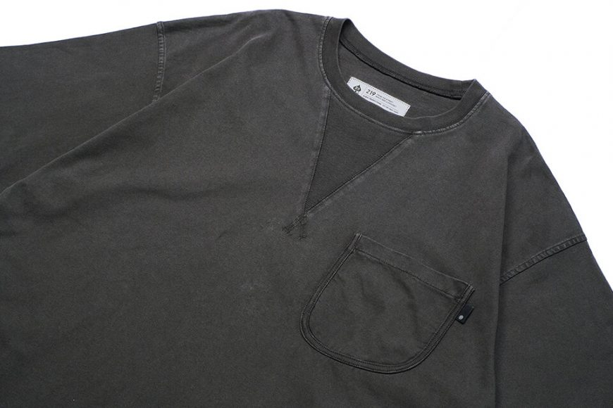 B-SIDE 21 SS Tee 21-5 Wide Heavy Washed (10)