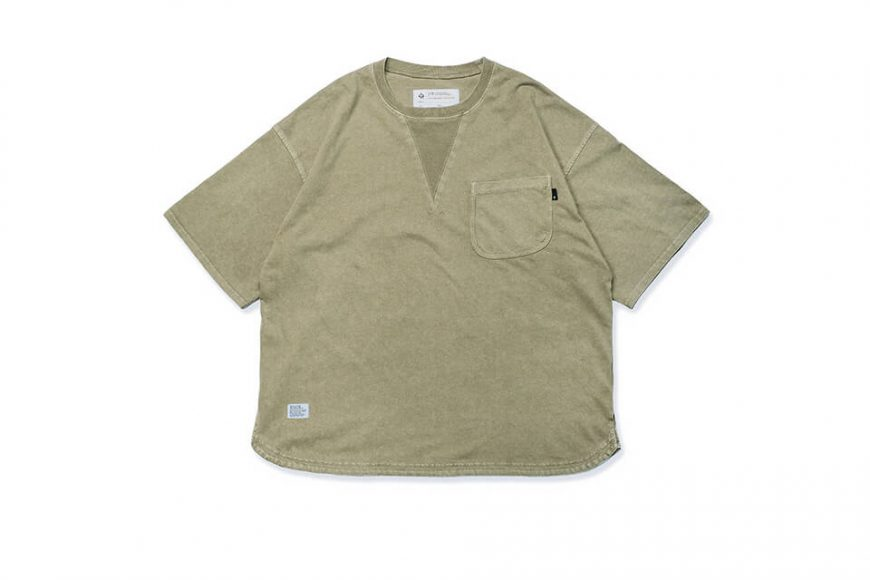 B-SIDE 21 SS Tee 21-5 Wide Heavy Washed (14)