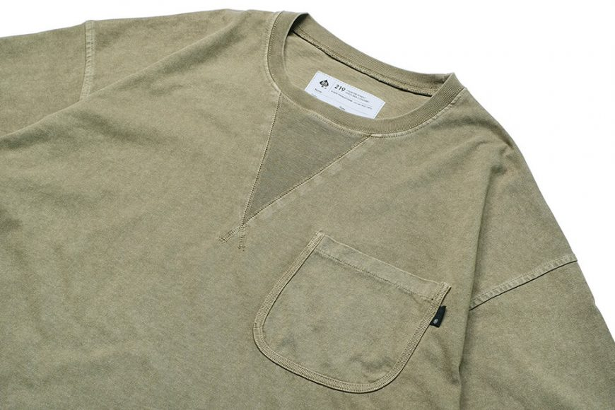 B-SIDE 21 SS Tee 21-5 Wide Heavy Washed (16)