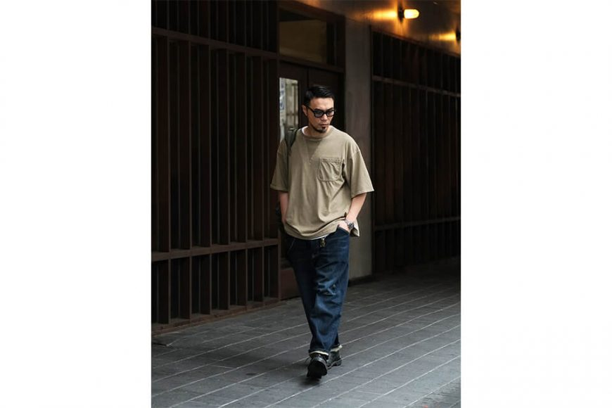 B-SIDE 21 SS Tee 21-5 Wide Heavy Washed (4)