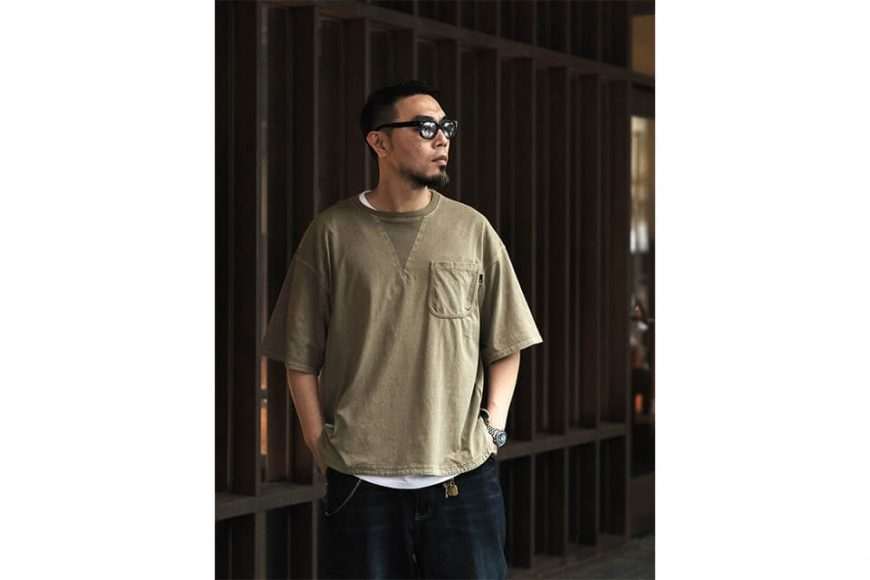 B-SIDE 21 SS Tee 21-5 Wide Heavy Washed (5)