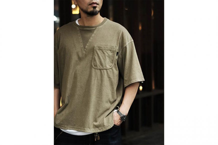 B-SIDE 21 SS Tee 21-5 Wide Heavy Washed (6)