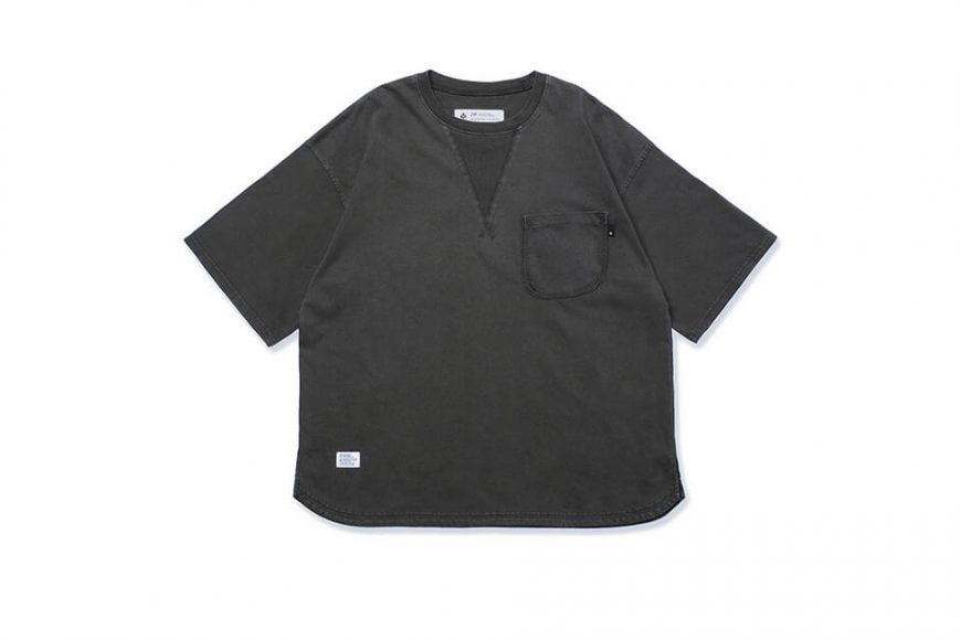 B-SIDE 21 SS Tee 21-5 Wide Heavy Washed (8)