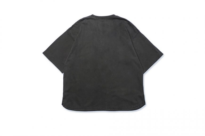 B-SIDE 21 SS Tee 21-5 Wide Heavy Washed (9)