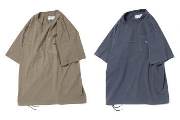B-SIDE 21 SS Tee 21-9 Heavy Washed (0)