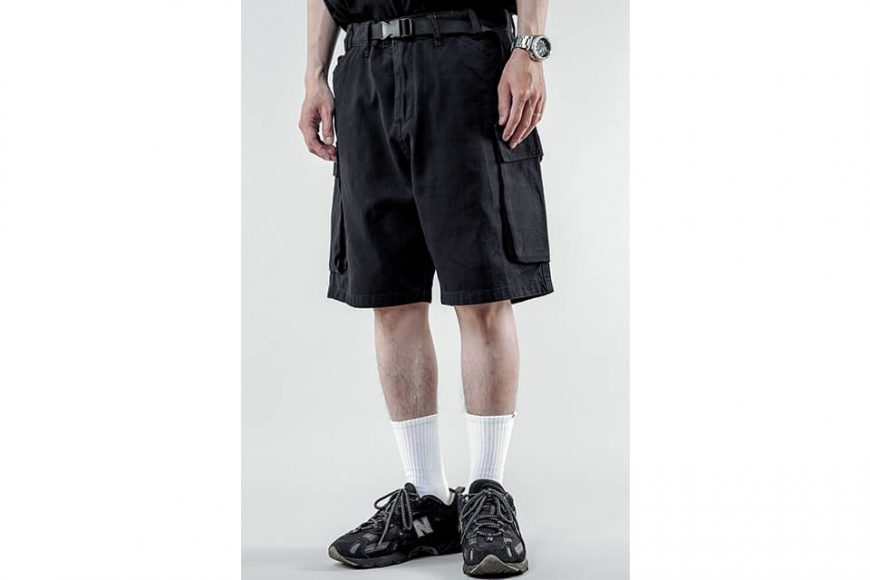 NextMobRiot 21 SS City Pockets Short Pants (2)