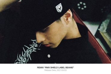 REMIX 21 SS RMX Shield Label Beanie (1)