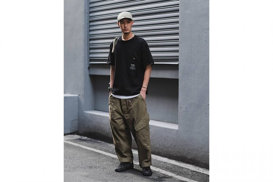 B-SIDE 21 SS Tee 21-2 Long Pocket (1)