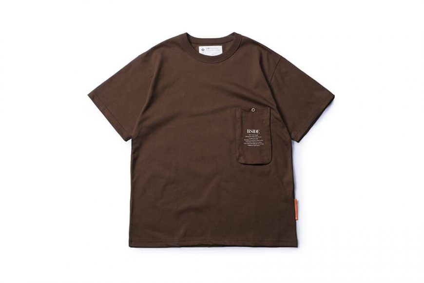 B-SIDE 21 SS Tee 21-2 Long Pocket (19)
