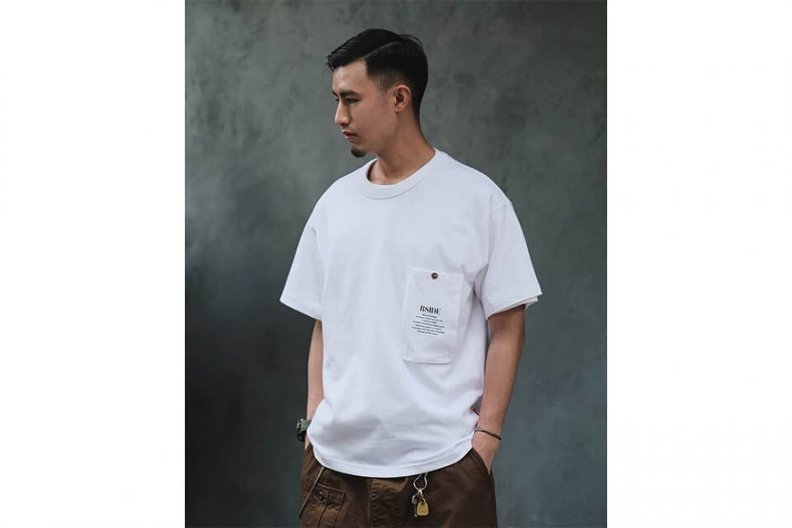 B-SIDE 21 SS Tee 21-2 Long Pocket (5)