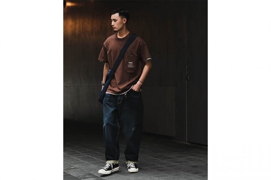B-SIDE 21 SS Tee 21-2 Long Pocket (7)