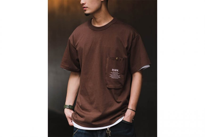 B-SIDE 21 SS Tee 21-2 Long Pocket (9)