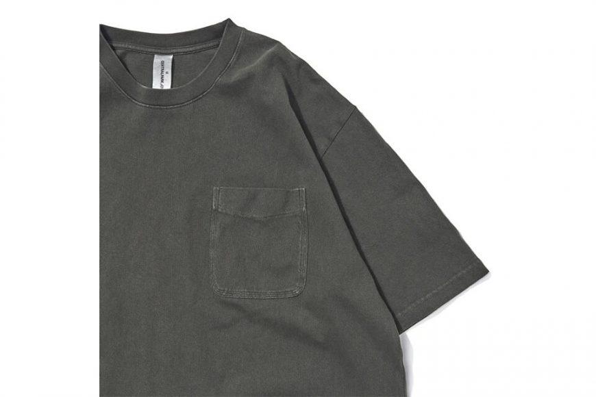 CentralPark.4PM 21 SS Washed Pocket T-Shirt (10)