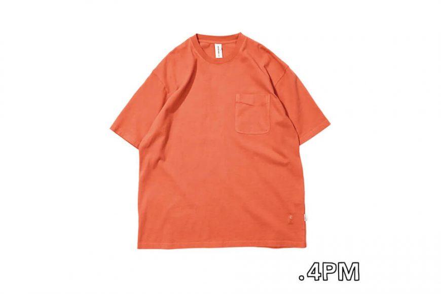 CentralPark.4PM 21 SS Washed Pocket T-Shirt (13)