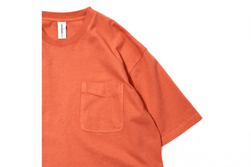 CentralPark.4PM 21 SS Washed Pocket T-Shirt (16)