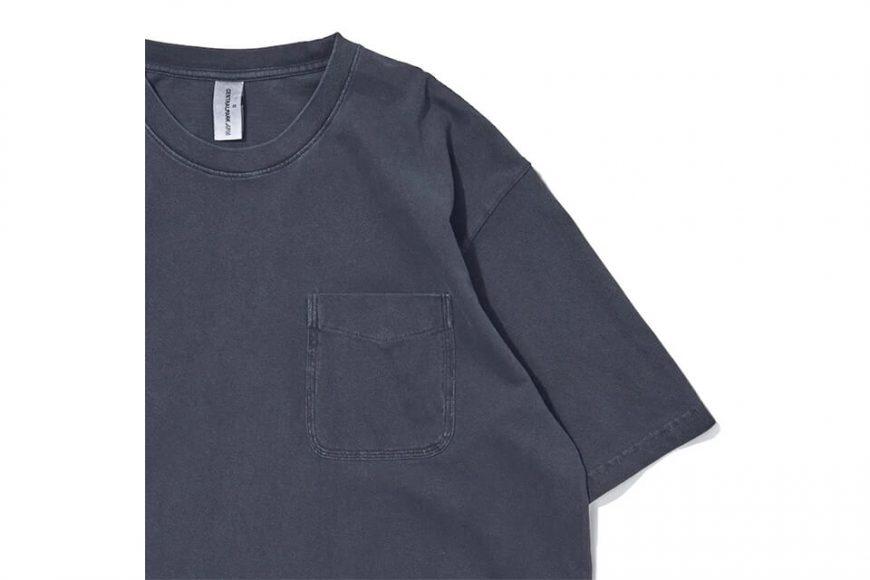 CentralPark.4PM 21 SS Washed Pocket T-Shirt (21)