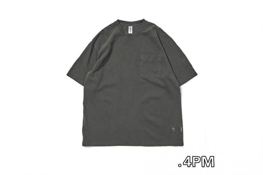 CentralPark.4PM 21 SS Washed Pocket T-Shirt (7)