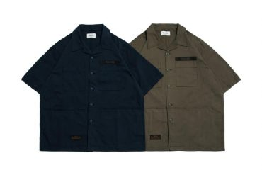 PERSEVERE 21 SS Enzyme Stone Washed Military Shirt (0)