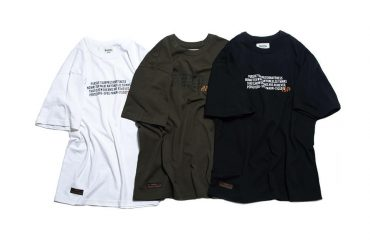 PERSEVERE 21 SS Motto Pattern T-Shirt (7)