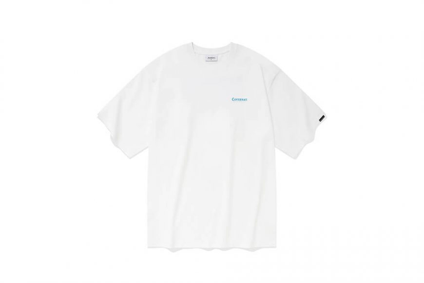 COVERNAT 21 SS Bicycle Ocean View SS Tee (1)