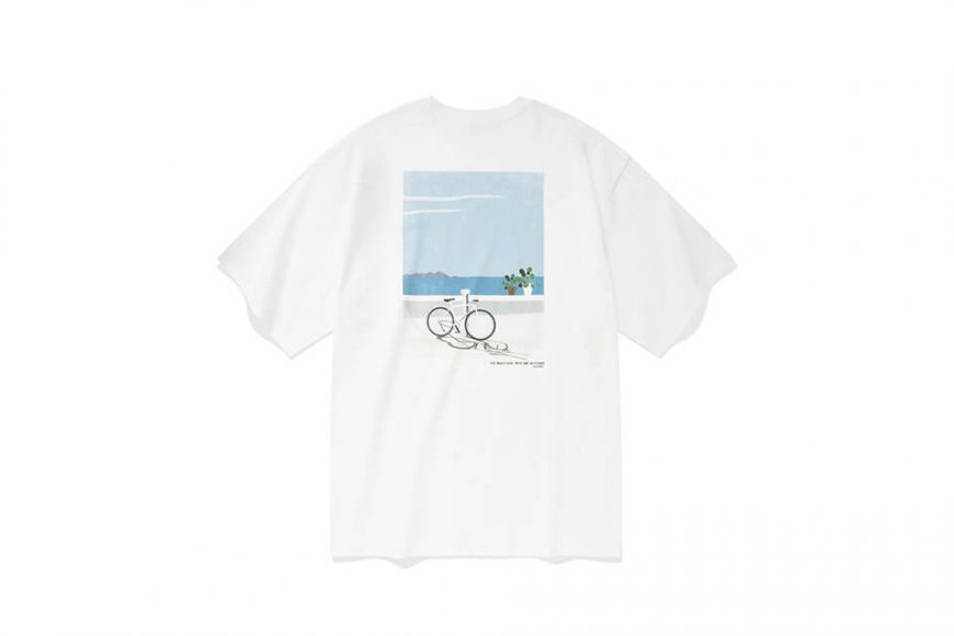 COVERNAT 21 SS Bicycle Ocean View SS Tee (2)