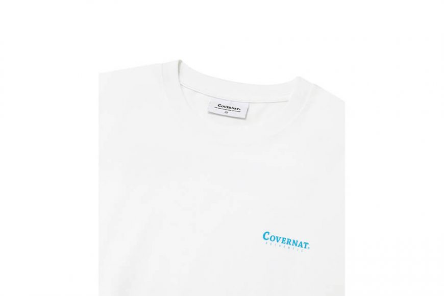 COVERNAT 21 SS Bicycle Ocean View SS Tee (3)