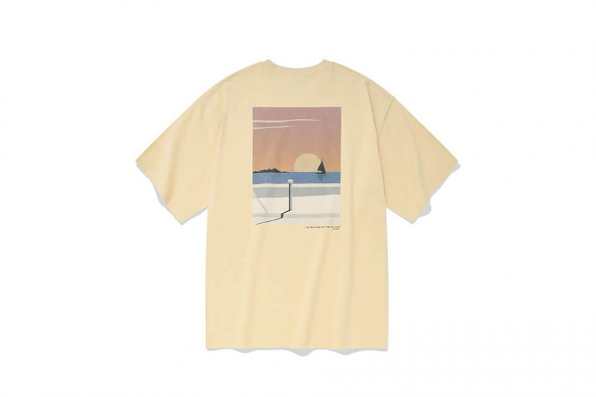 COVERNAT 21 SS Bicycle Ocean View SS Tee (6)