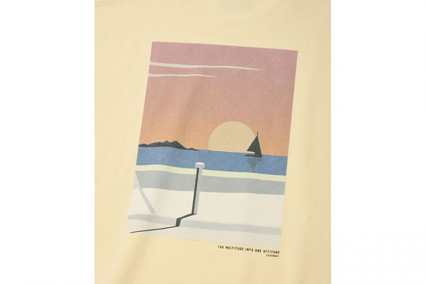 COVERNAT 21 SS Bicycle Ocean View SS Tee (8)
