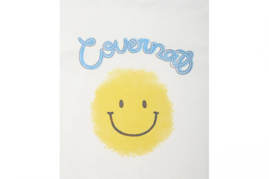 COVERNAT 21 SS Big Smile Logo Tee (7)