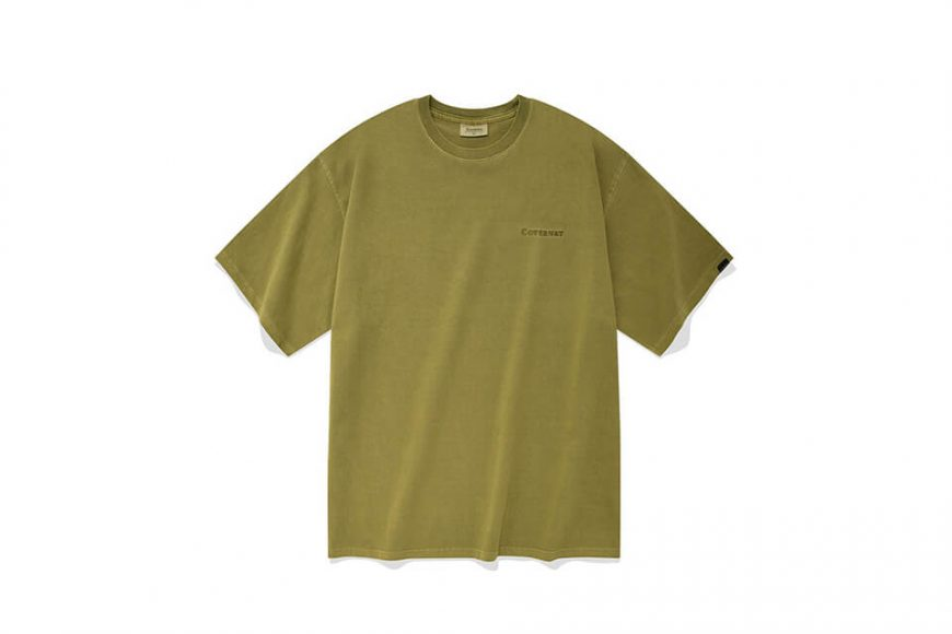 COVERNAT 21 SS Pigment Authentic Logo SS Tee (6)