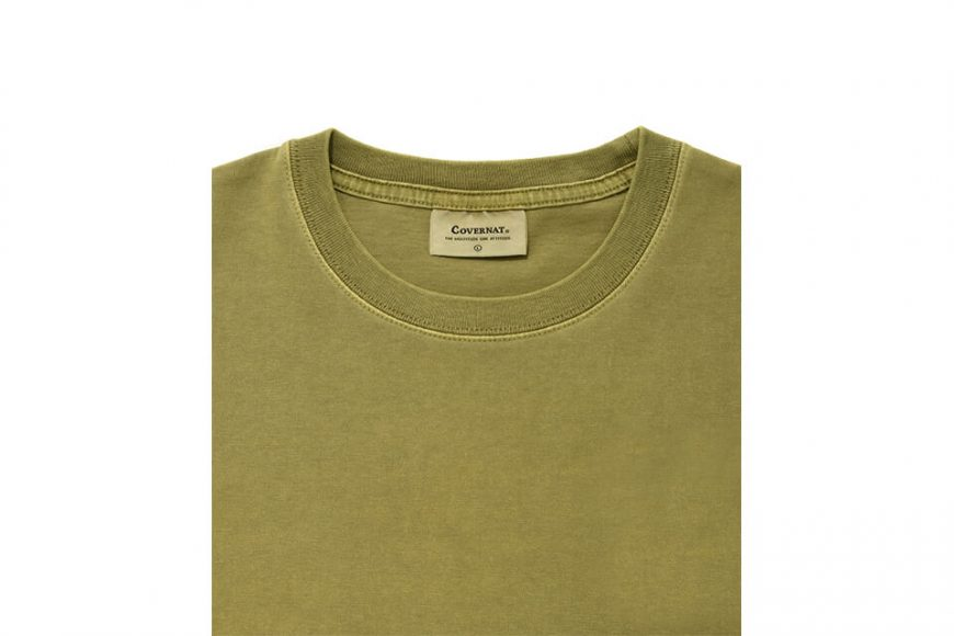 COVERNAT 21 SS Pigment Authentic Logo SS Tee (7)