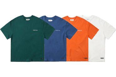 CRITIC 21 SS Backside Logo T-Shirt (0)