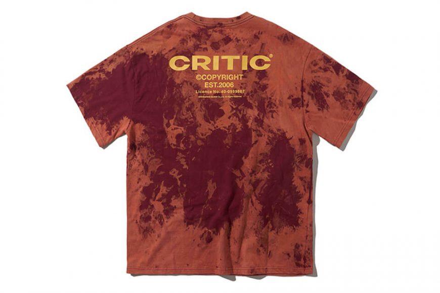 CRITIC 21 SS Backside Logo T-Shirt (14)