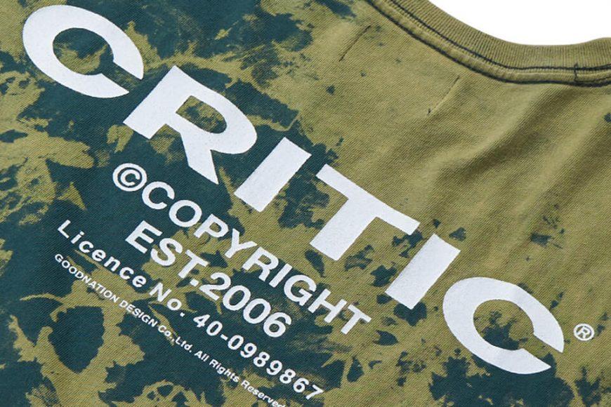CRITIC 21 SS Backside Logo T-Shirt (6)