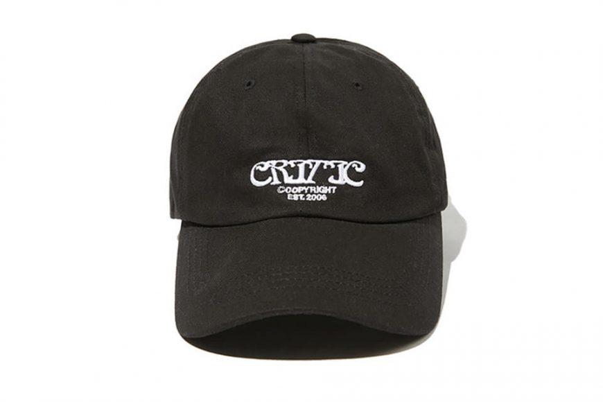 CRITIC 21 SS Ethnic Logo Ball Cap (1)