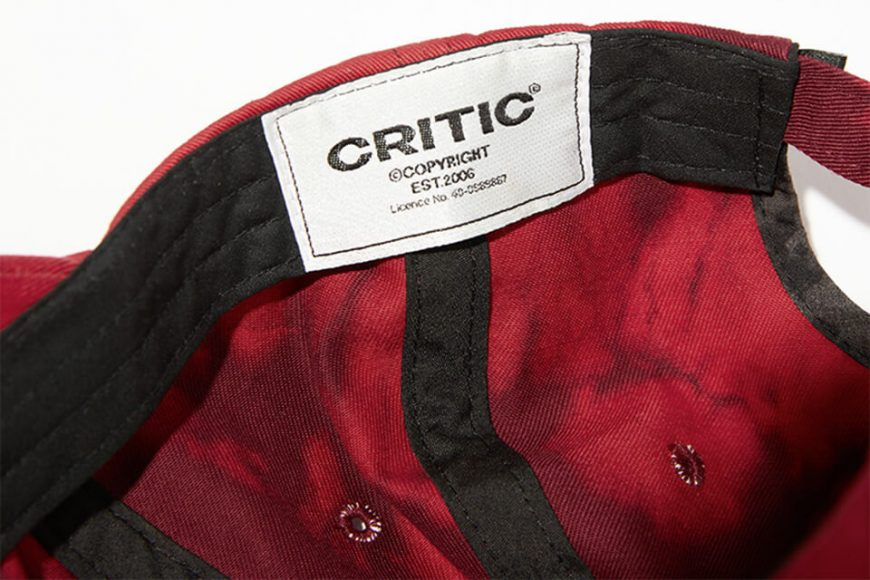 CRITIC 21 SS Ethnic Logo Ball Cap (18)