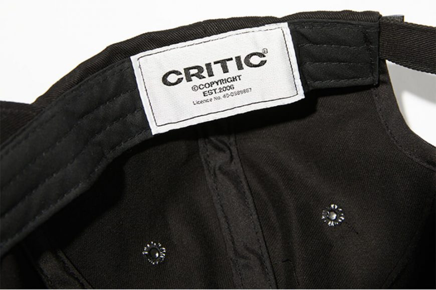 CRITIC 21 SS Ethnic Logo Ball Cap (6)