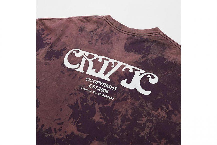 CRITIC 21 SS Ethnic Logo T-Shirts (8)