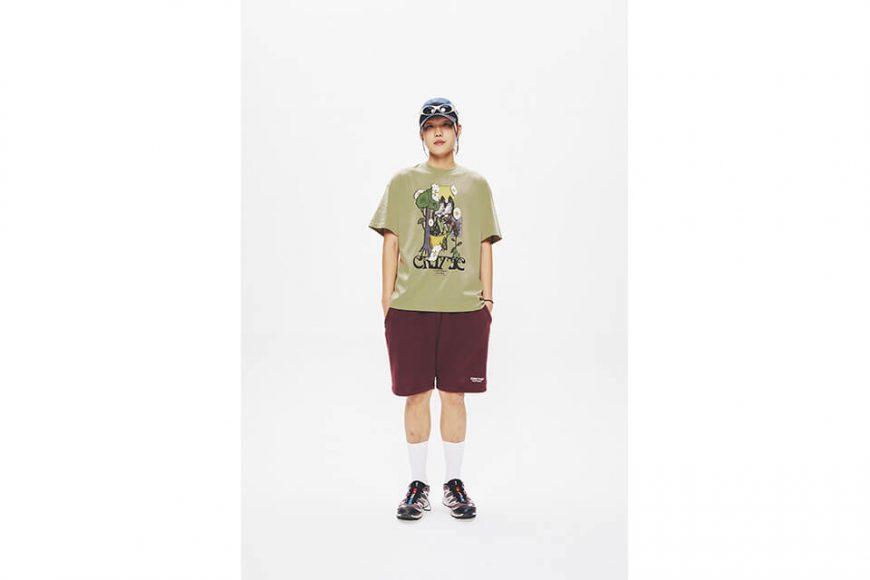 CRITIC 21 SS Flower World T-Shirts (1)