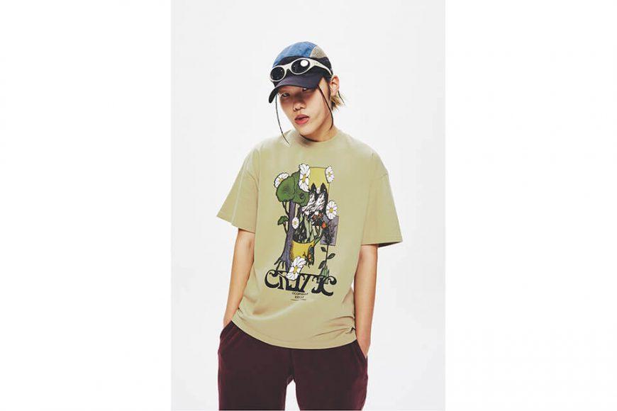 CRITIC 21 SS Flower World T-Shirts (3)