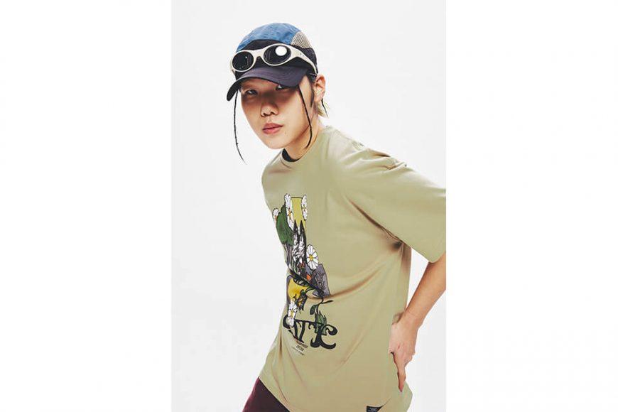 CRITIC 21 SS Flower World T-Shirts (4)