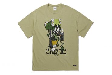CRITIC 21 SS Flower World T-Shirts (5)