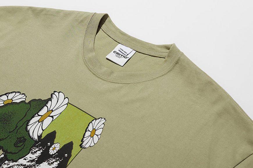 CRITIC 21 SS Flower World T-Shirts (7)