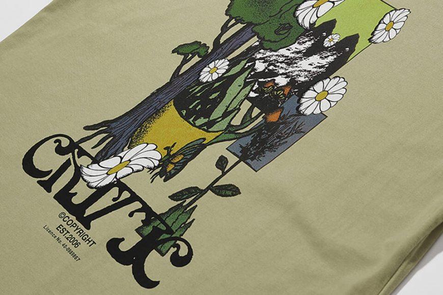 CRITIC 21 SS Flower World T-Shirts (8)