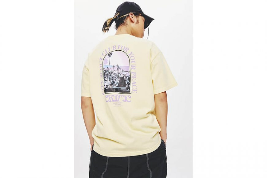 CRITIC 21 SS For Your Peace T-Shirts (9)