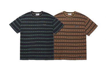 CRITIC 21 SS Navajo Stripe Knit Tee (0)
